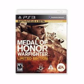 Jogo Medal Of Honor Warfighter Battlefiel Limited Edition P/