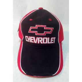 Gorra Combinada Chevrolet Logo Bordado Frente Y Atras