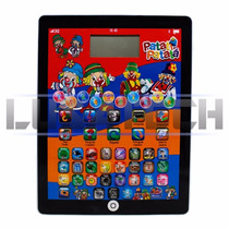 Mini Tablet Infantil Interativo Patati E Patata