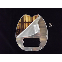 Escudo Music Man Sting Ray 4 Cordas Espelho 9 Furos
