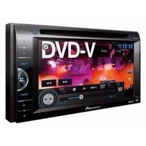 Estereo Dvd Pioneer Avh165 2 Din 6.1 Usb Iphone Rca Colocado