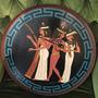 Cuadro Madera Egipcio Pintado Artista Victor Fernandez