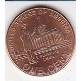 Eeuu, Antigua Moneda Colecionable De Cobre 1 Centavo 2.009