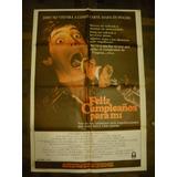 Afiche Cine Feliz Cumpleaños Para Mi Terror Clasico 80toso