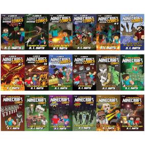 Coleção Minecraft Comics: A Lenda De Herobrine