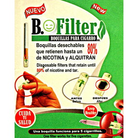 Boquillas O Filtros Para Cigarro Biofilter