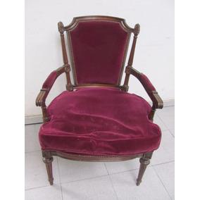 petit sillon poltrona dormitorio frances luis xvi unico