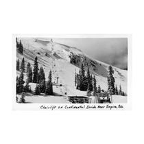 Co, Continential Divide Chairlift Near Empire Print, 24 X3
