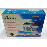 Walkman Cassette Grabador Radio Am-fm Nuevo Auto Stop Retro