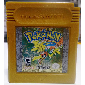 Pokemon Gold Version Original Game Boy Color Gbc