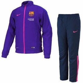 Nike Conjunto Barcelona Fc Pants - Pantalon Y Chamarra