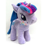 Peluche My Little Pony Twilight Sparkle 27cm Pelo Tela Mirá!