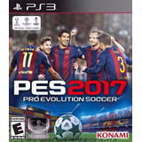 Juego Ps3 Pes 2017 Fisico Sellado Original