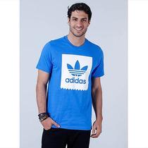 Camiseta Masculina Adidas Originals Blkbrd - Azul
