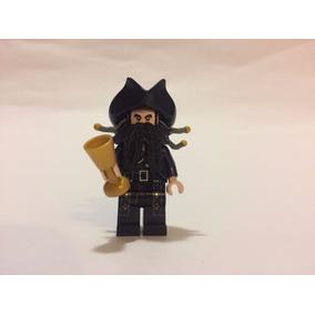 Lego Piratas Caribe - Barba Negra Blackbeard Original Mym