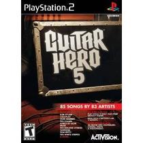 Guitar Hero 5 Programas Informáticos Autónomos - Playstation