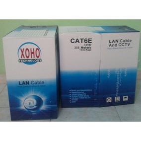 Cable Utp Cat6 Para Redes Y Camaras De Seguridad En Oferta!