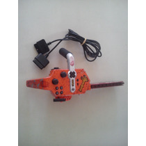 Control Chainsaw Moto Sierra Resident Evil 4 Ps2