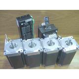 Kit Electronica Cnc 4 Ejes Con Motores Nema 34 De 122.3kg.cm