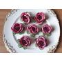 Forminhas De Rosa Antigo Doces Finos Festas Botão De Rosas