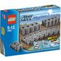 Lego Trains 7499 Kit De Trilhos: Retos E Flexíveis, Novo!