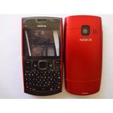 Carcaça Painel Completo Nokia X2-01 X2 01 X201 Vinho