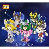 5 Caballeros Del Zodiaco Saint Seiya Loz Diamond Blocks