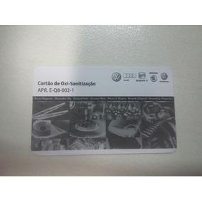 Cartão De Oxi-sanitização Vw Apr E-q8-002-01