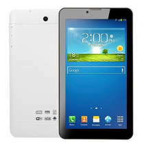 Tablet 3g Celular Whatsapp 2 Chip Wifi + Micro Sd 8gb + Capa