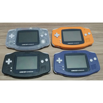 Console Nintendo Game Boy Advance Gba - 4 Cores