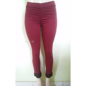Calça Feminina Cintura Média Alta Colorida Tenho Jeans