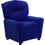 Flash Muebles Bt-7950-r-mic-blue-gg Azul Contemporáneo De Mi