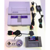 Consola Super Nintendo Snes 5 Meses Garantia Retromex Tcvg
