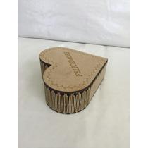 Caja Alhajero Mdf 3mm Corte Láser. Ideal Para Regalos.