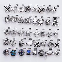 Kit 10 Berloques Pingente Para Pulseira Bracelete Pandora