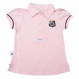 Camisa Polo Do Santos Infantil Oficial Menina