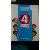 Ciencias Sociales De 4to Grado Ed. Santillana