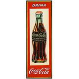 Póster Coca Cola Propaganda Tipo Antigua - Directo De Usa