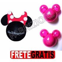 Minnie Enfeite Antena + 02 Aromatizador Mickey Disney Park