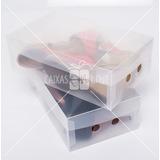 Caixa De Sapatos Transparente Femininos (kit 10 Unidades)