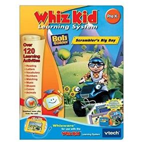 Juguete Cd Whiz Kid - - Vtech Bob El Constructor