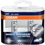 Lampara Osram H1 Night Breaker Unlimited X2 Unidades Germany