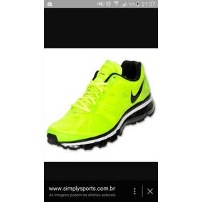 Nike Airmax+ 2012 Verde Limão Tam 10 Americano 42 Brasileiro