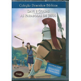 Dvd Desenhos Bíblicos Vol 18 - Davi E Golias