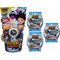 Yo Kai Watch Reloj Electronico + 9 Medallas Envio Gratis!!!
