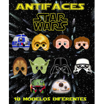 Antifaz Star Wars Para Fiesta Tematica Cumpleaños Festejo