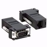 Conector Adaptador Vga Macho X Rj45 P/ Cabo De Rede 1 Unid
