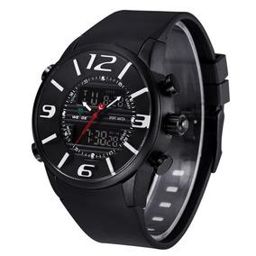 7b5b7b20df Rel Gio Masculino Weide Anadigi Wh 6402 Branco - Relógios De Pulso ...