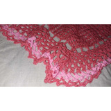 Manta Tejida A Mano A Crochet