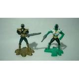 Figuras Power Ranger Super Samurai Mcdonals Usadas 2013